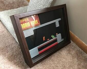 Super Mario Bros. 3D Shadow Box