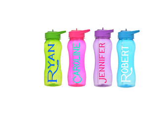 Personalized Water Bottles/kids party favors/kids water bottle/personalized water bottle/kids cups/childs water bottle/sippy cup/kids cup