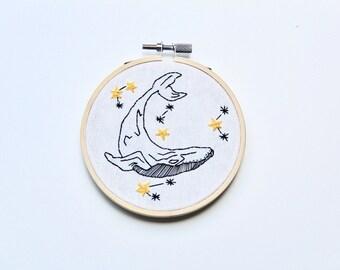 Whale - Frame handmade