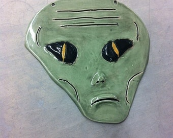 Decorative Roswell the Alien Head