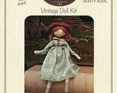 Verity Hope Vintage Miniature Doll Kit - VERITY HOPE