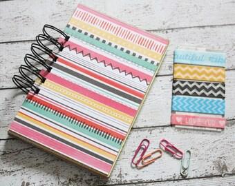 junk journal, journal, smash book, notebook