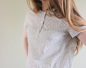 Cotton Lawn Pullover Blouse