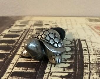 Wine Stopper - Silver Turtle Wine Bottle Stopper