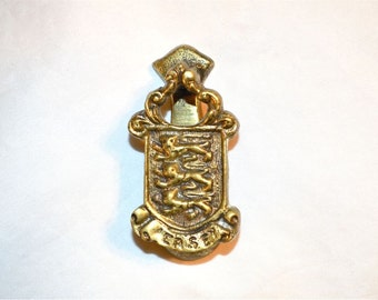 Small Jersey Door Knocker for Jersey Lovers, Vintage and Nifty for Inside Doors