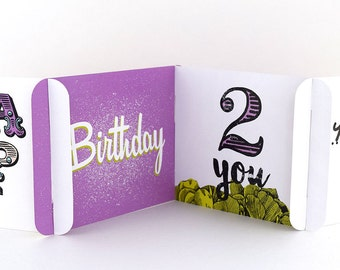 Unique Birthday Card - Customizable Birthday Card - CARDzees™ Greeting cards with a unique approach