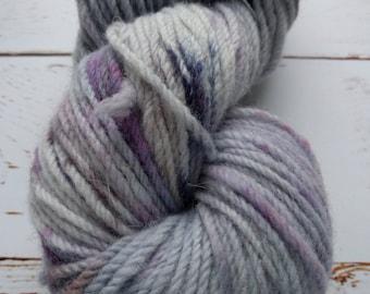 Cloud 9- KR Rustic: Aran hand dyed yarn 100 g/3.5 oz 115 meters/125 yards