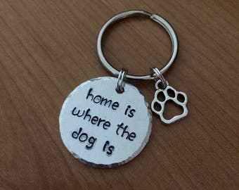 Home Is Where The Dog Is - Dog Person Gift - Dog Lover - Cat Lover - Dog Lady - Cat Lady - Pet Gift