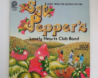 Sgt. Pepper's Lonely Hearts Club Band - Music from the Motion Picture (1978) Vinyl Record LP