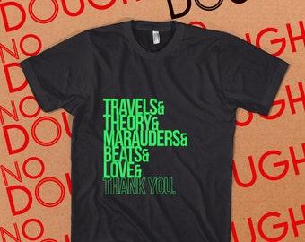 A Tribe Called Quest Albums BLACK T-Shirt Hip Hop DJ