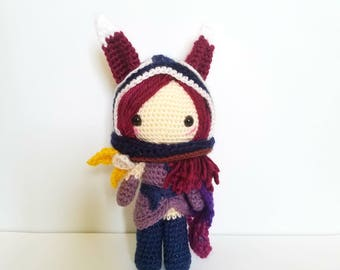 League of Legends Classic Xayah Amigurumi