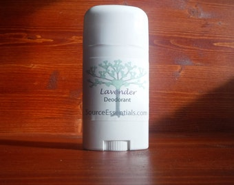 Natural Deodorant/ LAVENDER / Chemical Free / Aluminium Free/ All Natural/ Essential oils/ Fresh Scent/ Natural Skin Care/ Body Care