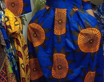 Maxi Dress/Ankara Maxi dress/A-Line prom dress/Evening dress/African print dress/Dress/Formal wear/long dress/Prom Maxi dress