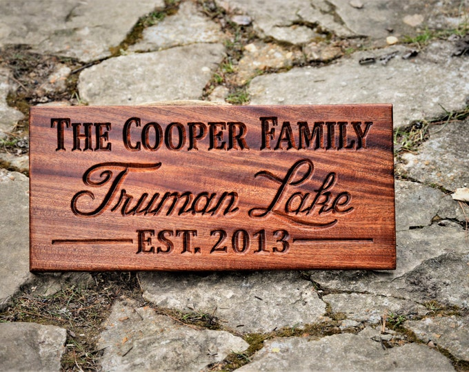 Last Name Sign Last Name Establish Sign Family Name Sign Personalized Family Name Signs Last Name Established Personalized Family Name Sign