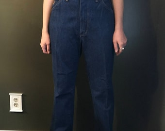 High Waisted 70's Wrangler Jeans 'Junior Fit'