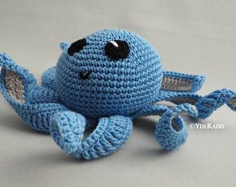 Little Octopus amigurumi Ydekado handmade gift idea