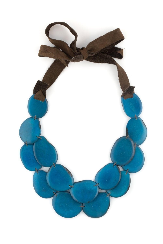 tagua statement necklace tagua jewelry tagua necklace