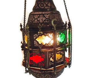 Middle Eastern Lamp Etsy