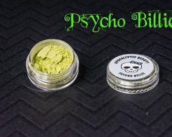 Psycho Billie - yellow-green vegan eyeshadow