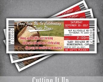 Baseball invites | Etsy