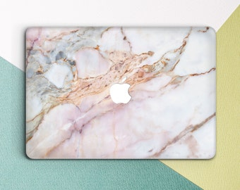 Rose Marble  Macbook Pro Case Marble Laptop Case  Macbook Hard Case Macbook Air Marble Macbook Air 13 Marble Macbook Rose Marble Macbook