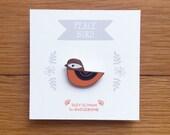 PEACE BIRD - enamel pin
