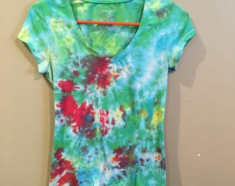 Hand tie-dyed size small free shipping