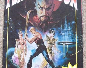 Vintage Flash Gordon Official Film Poster Magazine 1980