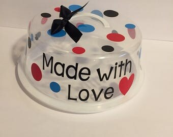 Round Cake/Cupcake/Cookie container