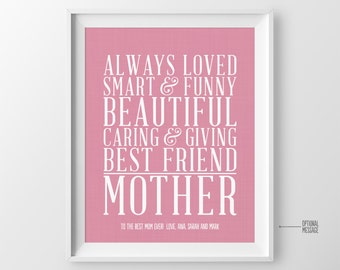 Christmas Gift for Mom Gift, Mom Birthday Gift, Mother Gift for Mothers Day Gift, Mother of the Bride Gift, Wedding Gift for Mom