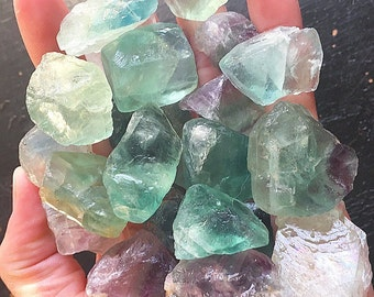 Small Rough Fluorite