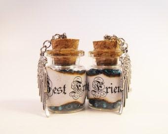 Best Friends Matching Bottle Necklaces