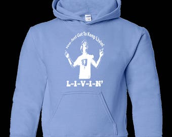 Dazed and Confused Just Keep Livin' - Youth Pullover Hoodie