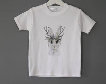 Childrens Rabbit T shirt