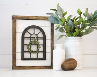 Vintage Window | DIY Pocket Frame Insert Kit | SIZE B | Frame Not Included
