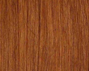 Light Auburn-100% Human Hair Flip-in(Halo style) extension