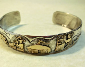 Sterling Silver Story Teller Bracelet