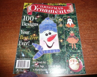 Easy To Make Christmas Ornaments Magazine 2004