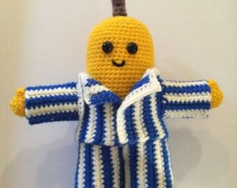 PATTERN: Bananas in Pyjamas/ Amigurumi/ Crochet tutorial with photos