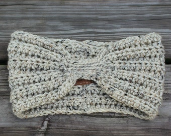 Turban Headband // Crochet // Handmade // Free Shipping