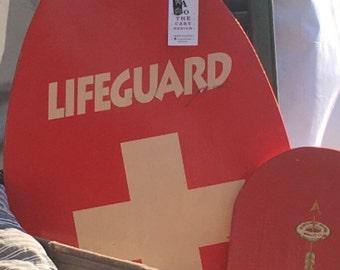 Vintage Lifeguard Skim Board   Boogie Board    Life Saving Board