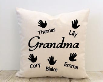 Grandma Pillow Cover, Mother's Day Pillow Cover, Mom Pillow Cover, Nana Pillow Cover, Love Pillow Cover