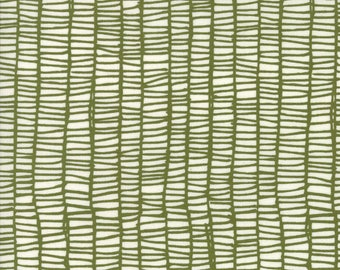 SALE!! 1 Yard Merrily by Stacie Bloomfield of Gingiber for Moda -48215-13 Merrily Weave Holly