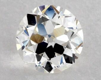 GIA Certified European Cut Diamond 1.00 Carat H color VS1 clarity, Old European Cut Diamond, Vintage Diamond
