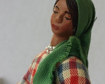 Home Industries Doll Hand Made in Israel-Vintage Item