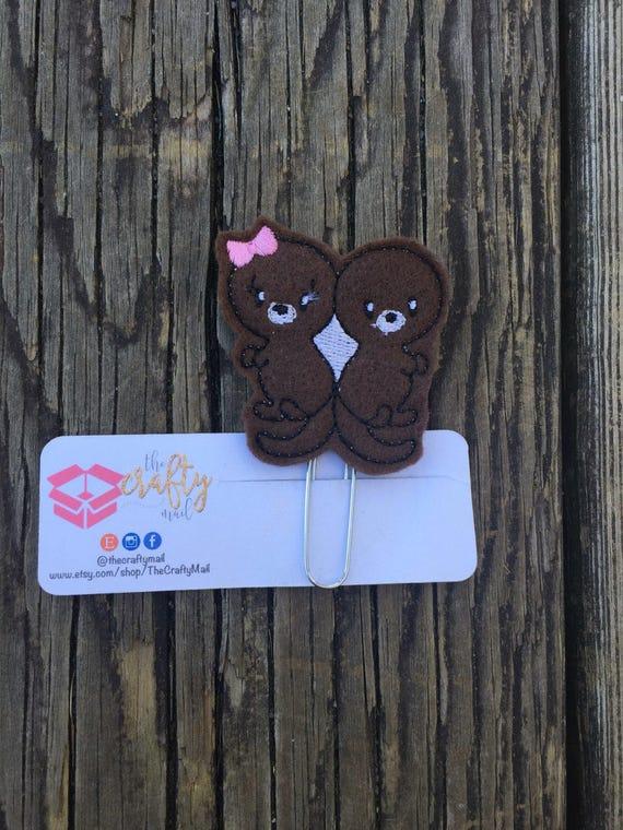 Otter Clip/Planner Clip/Bookmark.