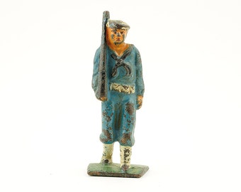 Vintage, barclay, lead soldier, toy soldier, 1930s