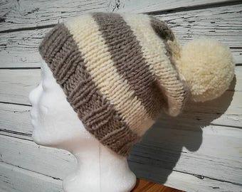 Cap * Knit Beanie * Beanie * wool * hand knitted!