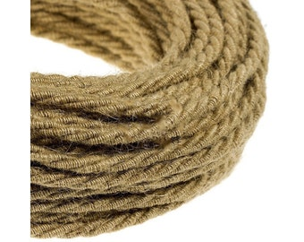 Textile cable / woven fabric