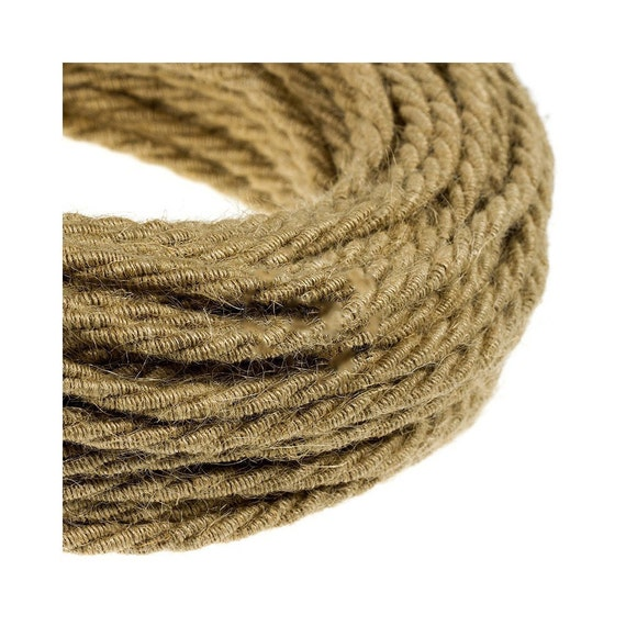 cable lectrique textile tissu tress. Black Bedroom Furniture Sets. Home Design Ideas